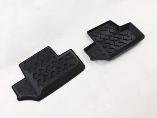 Rear Position Jeep JK Accessories All Weather Car Interior Mats Replacement