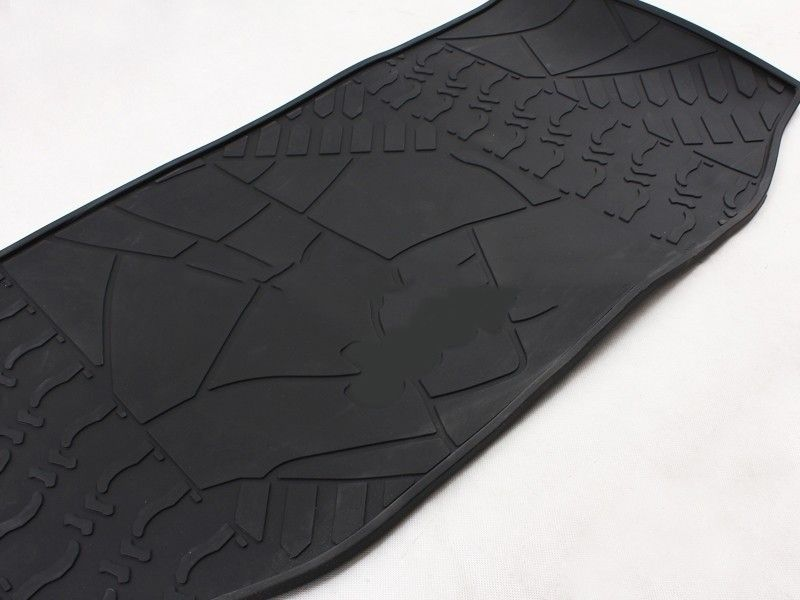 Universal Black Auto Trunk Mats 2 Doors Jeep Wrangler Interior Accessories