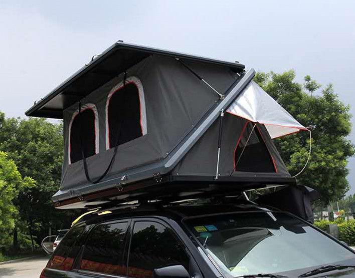 Half Automatic Z Shaped Hard Shell Roof Top Tent